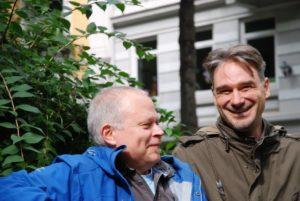 Matthias Pätzold und Harald Kother (v.l.) von drp Kulturtours
