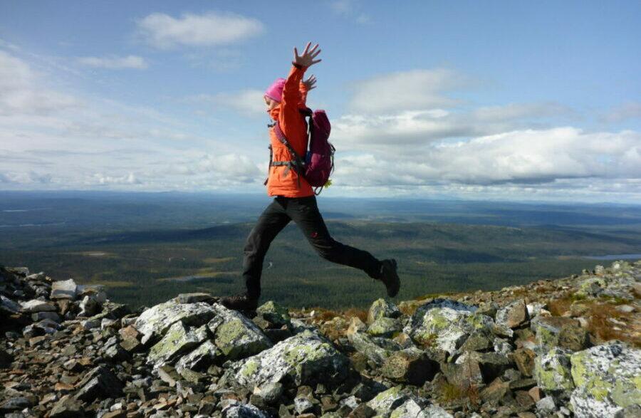 Wandern im Fulufjäll Nationalpark Schweden - Rucksack Reisen