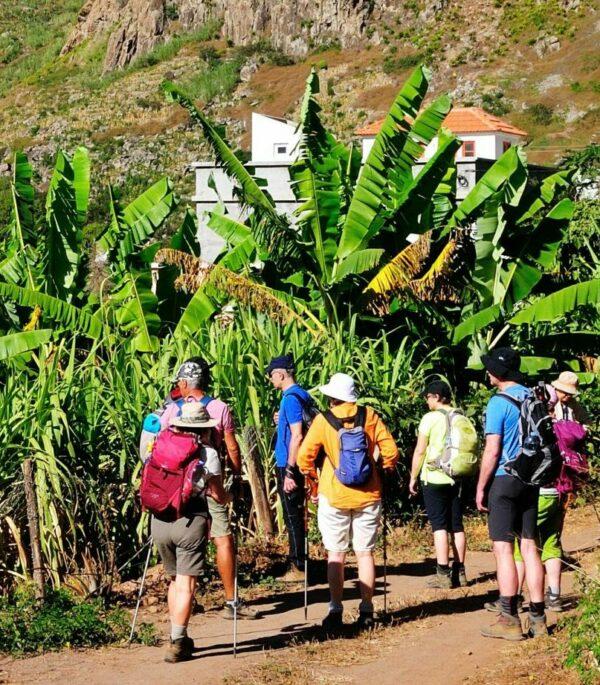 Reisegruppe auf den Kapverden