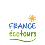 Logo von France écotours mit Sonne