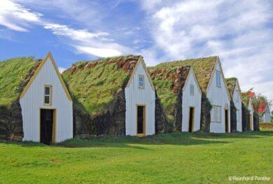 Island Mietwagenrundreise - Torfhof Glaumbær - Nordwest-Island