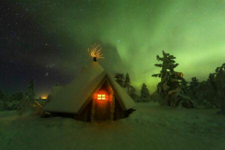 Nordlichter entdecken in Lappland