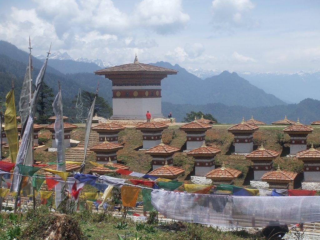 Bhutan Und Der Druk Path Trek Wandern Im Anblick Des Himalaya 1