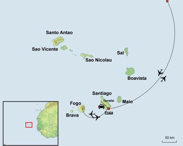 Wo Liegt Kapverden Karte.Individuelle Kapverden Rundreise Die Inseln Des Südens Erwarten Sie