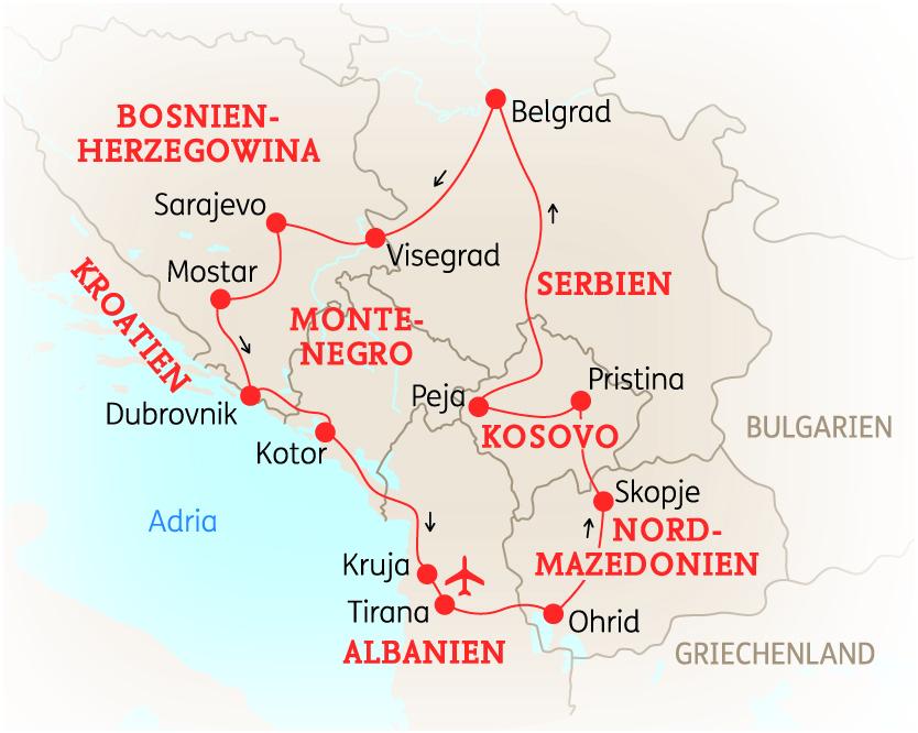 balkan kroatien albanien h hepunkte in sieben l ndern forum anders reisen reiseland. Black Bedroom Furniture Sets. Home Design Ideas